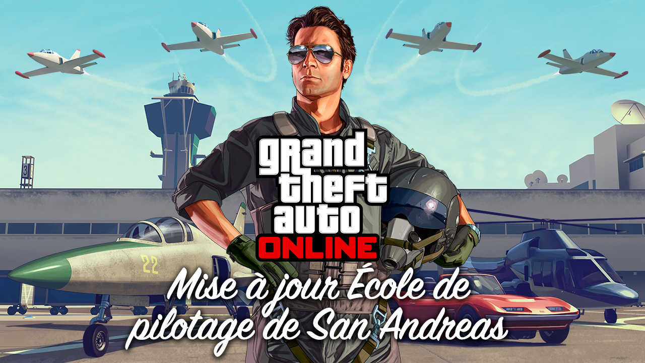 grand theft auto online mise jour cole de pilotage de san andreas rockstar games. Black Bedroom Furniture Sets. Home Design Ideas