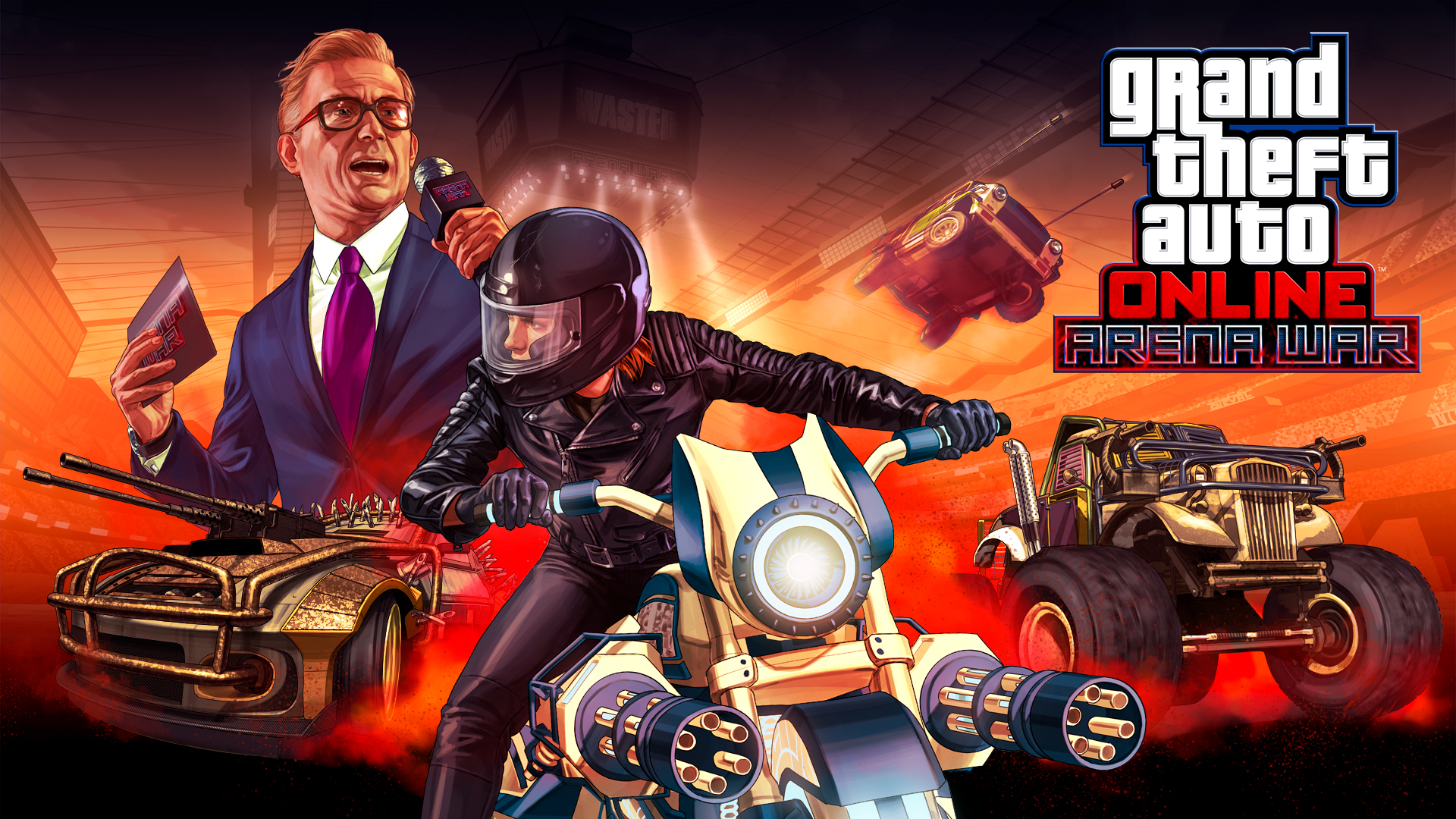 GTA Online: Arena War Out Now - Rockstar Games
