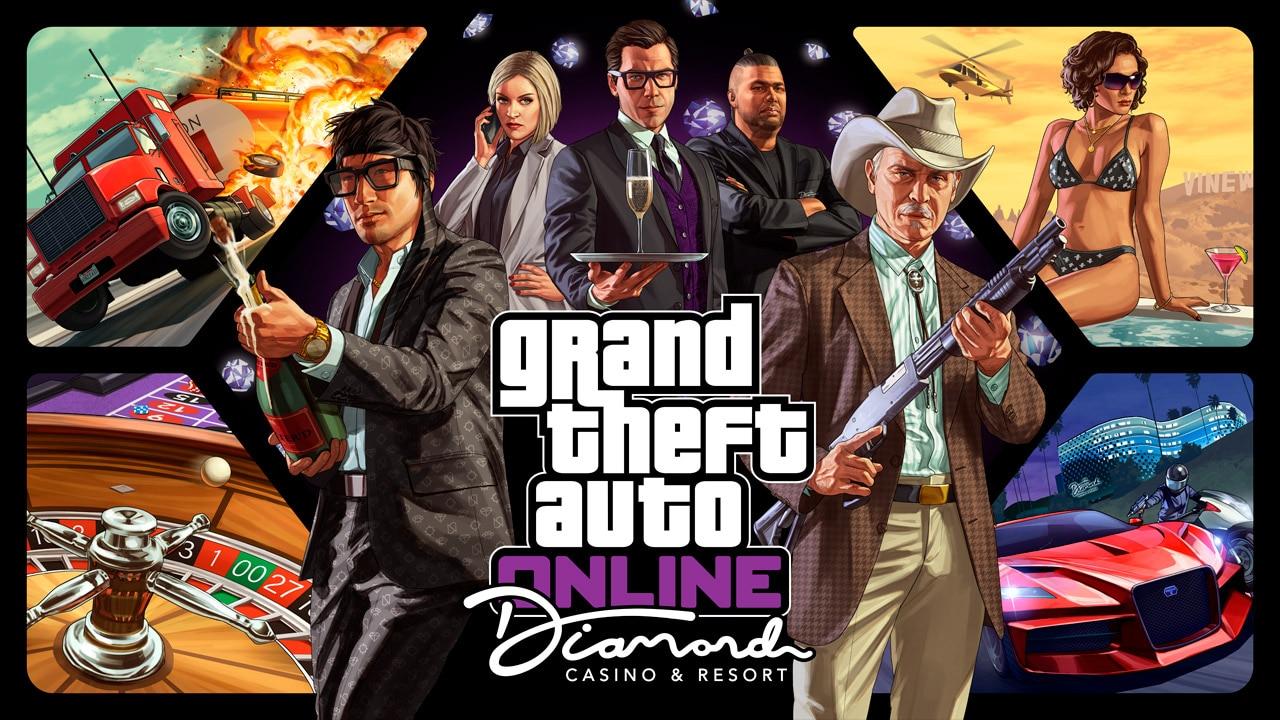 Grand Theft Auto Online - The Diamond Casino & Resort - Rockstar Games