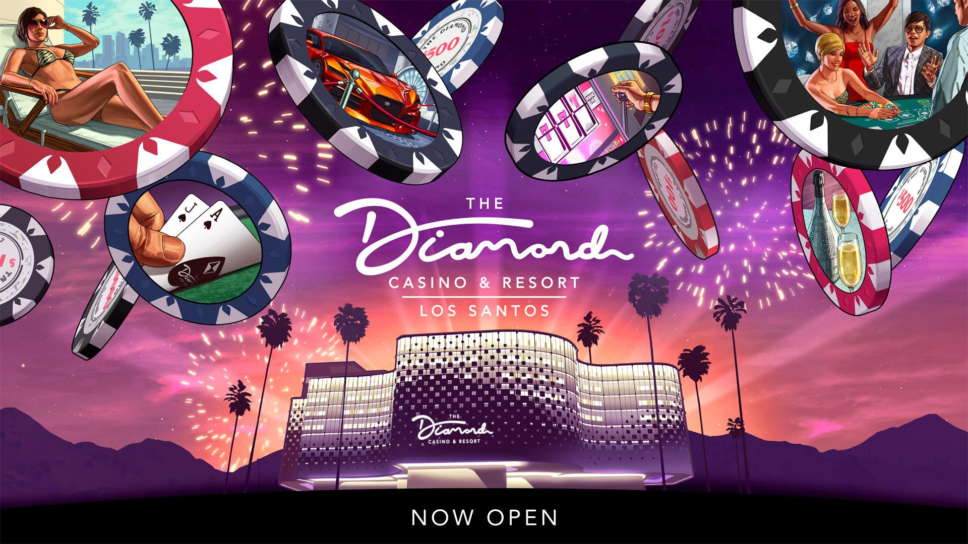 Grand Opening: The Diamond Casino & Resort is Now Open